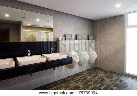 Luxury Public Restroom