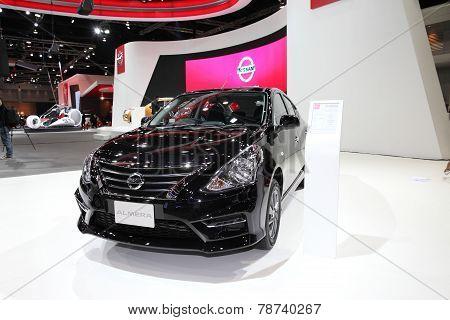 Bangkok - November 28: Nissan Almera Car On Display At The Motor Expo 2014 On November 28, 2014 In B