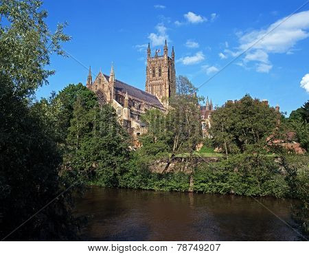 Worcester Cathedral.