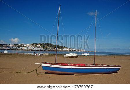 Old Yacht In North Devon