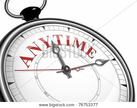 Anytime Concept Clock