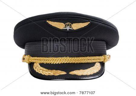 Peak-cap Of The Pilot