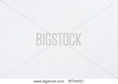 White Spray Textured Wall