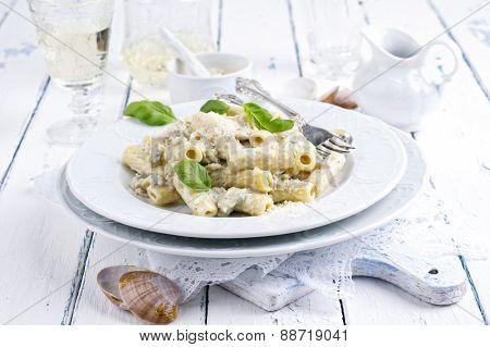 Rigatoni al Gorgonzola