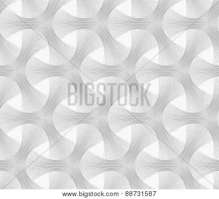 Slim Gray Striped Tetrapods