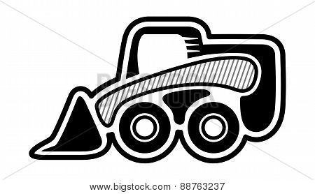 Skid Steer Wheel Loader