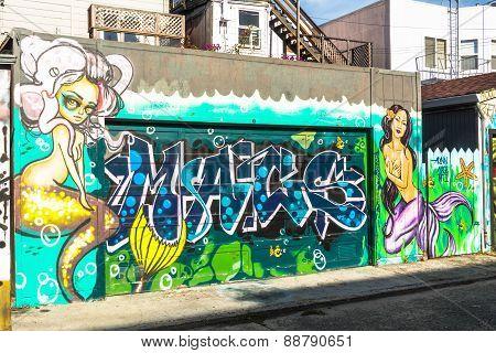 Murals in San Francisco