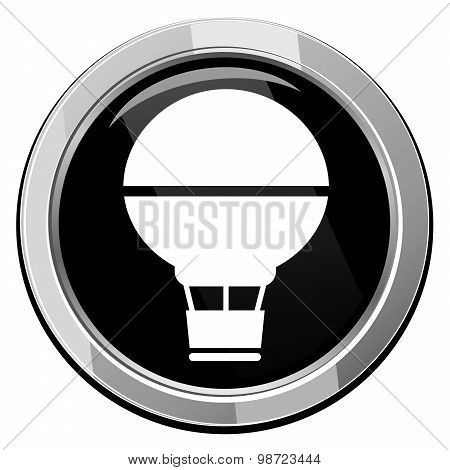 Air Balloon - Vector Icon Isolated