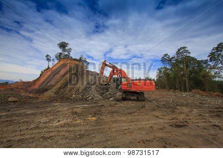 Deforestation environmental damage destruction of rainforest