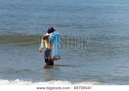 Fisherman Catch Fish