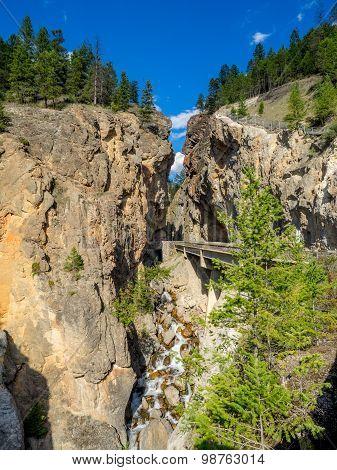 Sinclair Canyon, Kootney National Park
