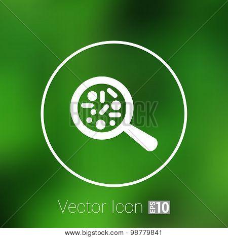 Vector icon Biochemistry microbiology Microorganisms Bacterias