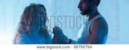 Husband Abusing Wife