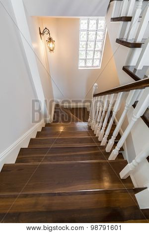 Light And Spacious Stairwell