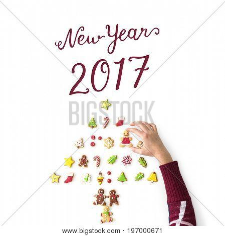 Cheers Seasons Greeting New Year 2017