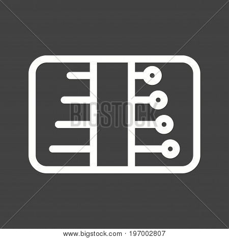 Sewing, needles, pack icon vector image. Can also be used for Sewing. Suitable for mobile apps, web apps and print media.