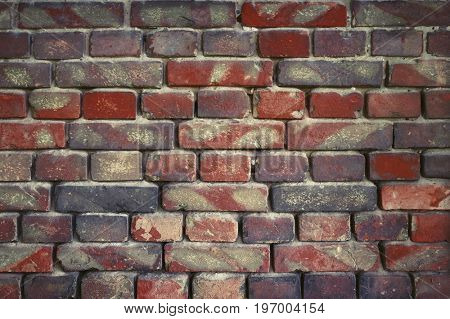 old brick wall for texture or background