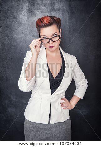 Beautiful Strict Teacher