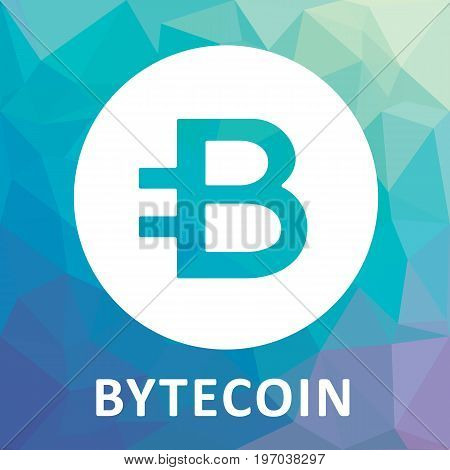 Bytecoin (BCN) criptocurrency icon for apps and websites.