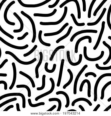 Seamless Worm Pattern