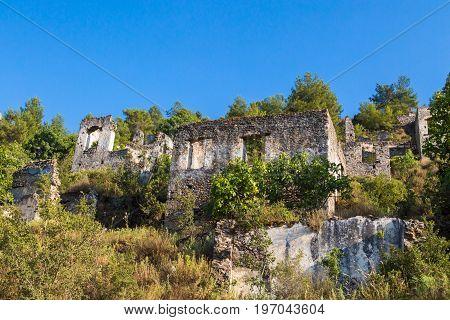 Stone Village In Fethiye