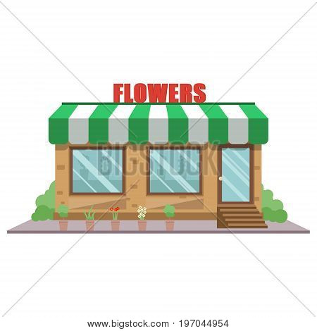 Flower Shop Vector