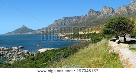 OUDEKRAAL, CAPE TOWN, SOUTH AFRICA, ON A CLEAR SUMMERS DAY