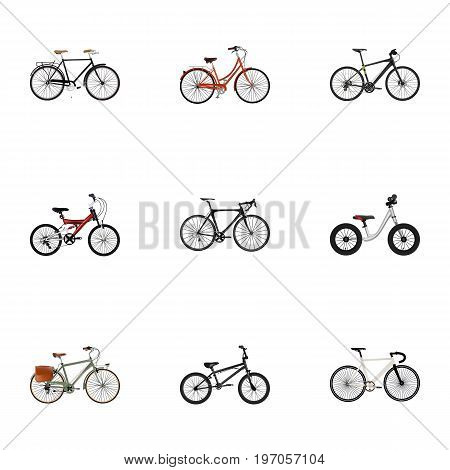 Realistic Equilibrium, Extreme Biking, Adolescent And Other Vector Elements