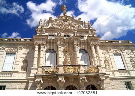 Castle of Ludwig II King of Bavaria in Germany