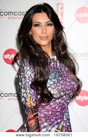 LOS ANGELES - AUGUST 6:  Kim Kardashian at the Comcast Entertainment Group Summer 2010 TCA Cocktail Party at Beverly Hilton Hotel on August 6, 2010 in Beverly Hills , CA