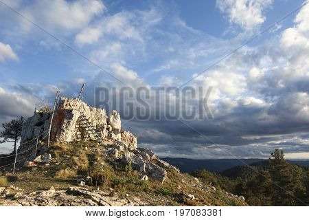 Afternoon in La Picosa Peak, Los Ports Mountains
