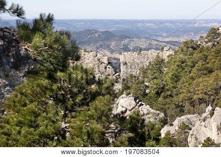 Views of Los Ports Mountains natural park