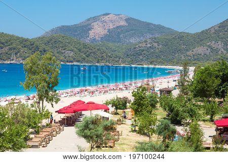 Oludeniz In Fethiye Turkey