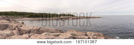 Green Cove, Cape Breton Highlands Coast Panoramic (left Side)