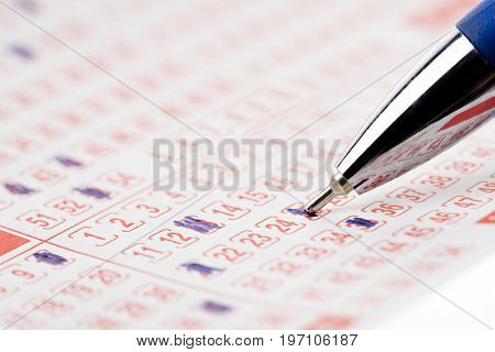 Pen and Lottery Ticket