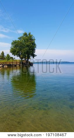 St. Lawrence River at Cedar Point State Park