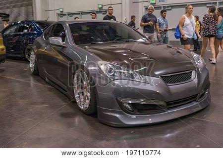 Hyundai Genesis Coupe On Display