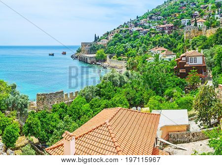 Among The Greenery Of Alanya Peninsula