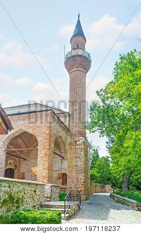 The Castle Mosque In Alanya
