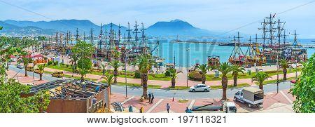 Rihtim Promenade In Alanya