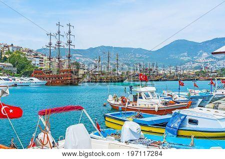 Old Marina Of Alanya
