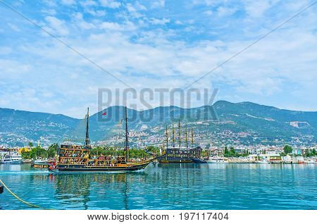 The Wooden Ships In Alanya