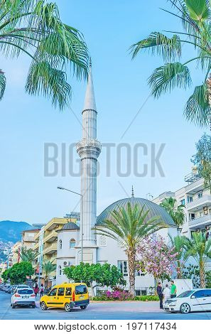 The Mosque In Alanya