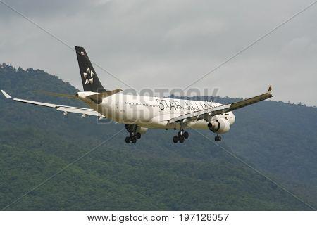 Hs-tel Airbus A330-300 Of Thaiairway