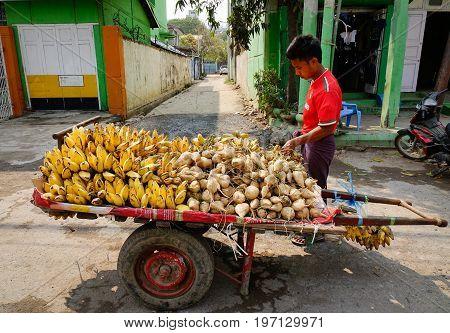 People On Street In Mandalay, Myanmar