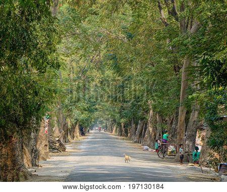 Rural Scenery In Mandalay, Myanmar