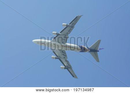 Hs-tgo Boeing 747-400 Of Thaiairway.