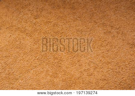 Brown leather background suede texture for graphic design.