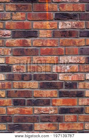 old red brick wall background and texture for graphic design.