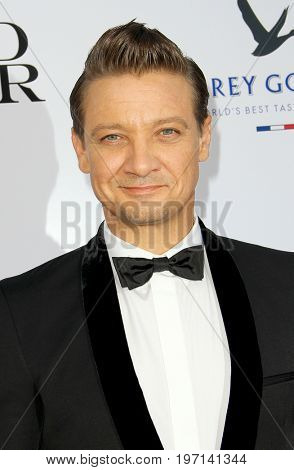 Jeremy Renner arrives at the Weinstein Company's